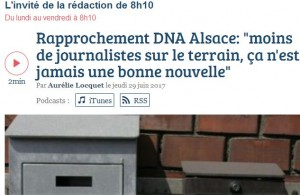DNA Alsace France Bleue